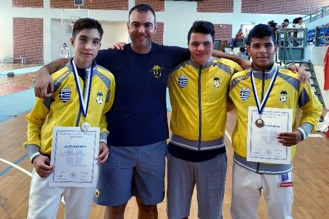 AEK-fencing-CHANIA2