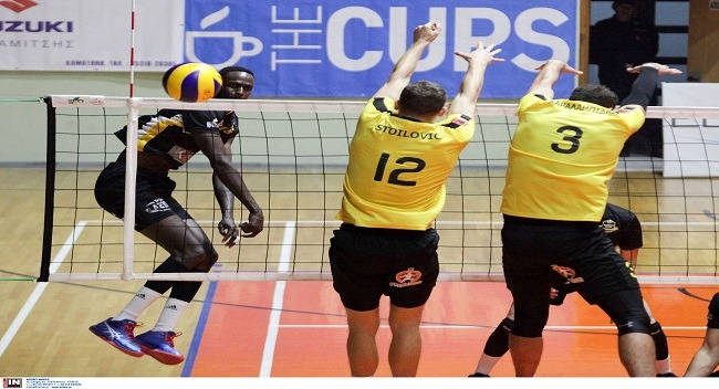 volley andron