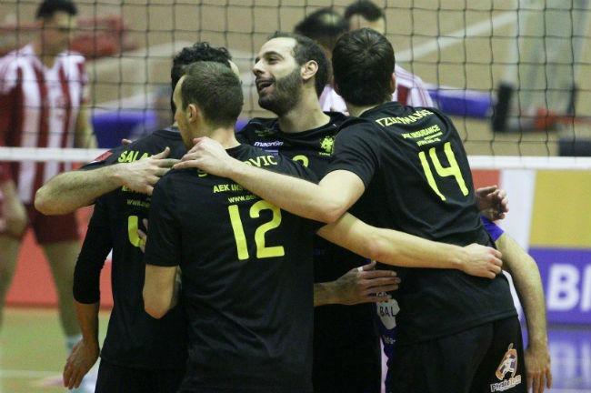 aek-osfp-olympiacos-volley-volleyball-men-andron-andrwn-omada-omadiki-team-charalampidis