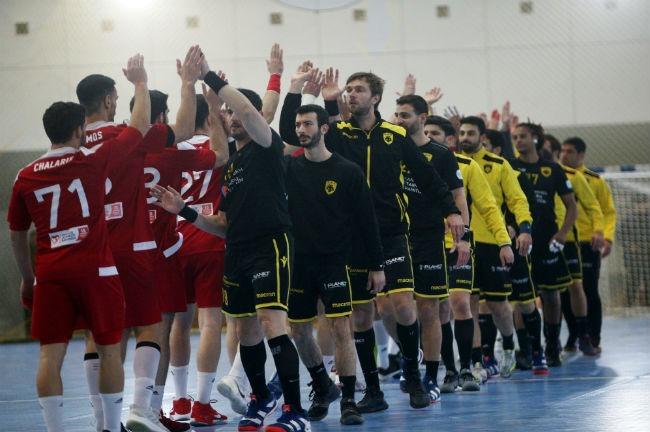 aek-osfp-olympiacos-handball-team-omada-omadiki-parousiasi