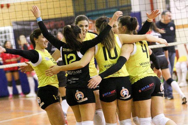 aek-zaon-women-volley-volleyball-gynaikes-ginaikes-team-omada-omadiki-win